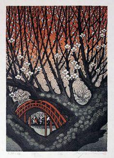 """Plum Blossoms in Tenjin"" by MORIMURA Ray, 2012"