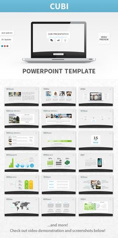 15 high quality, professional and premium powerpoint templates, Presentation templates
