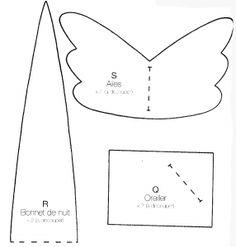 Mimin Dolls: Tilda sonolenta 2- molde camisola longa