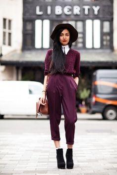 Fashion Trend: Burgnundy