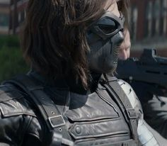 Sebastian Stan as Bucky Barnes AKA The Winter Soldier.