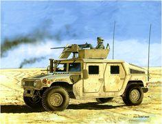 M1151 Hummer- Humvee