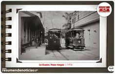 Resumen de Noticias: Fotos Históricas   Plaza Vargas