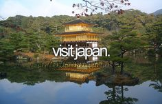 Check! June 2015 (I actually visited the temple in this picture! 金閣寺)