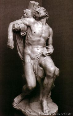 Gian Lorenzo Bernini - San Sebastiano (Madrid, Museo Thyssen-Bornemisza, 1617).jpg