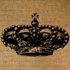 Ornate Crown Royal Princess Queen Jewels Antique Royalty Digital Image Download…