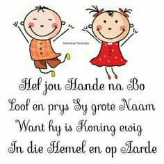 Kindergarten Lessons, Preschool Learning, Afrikaanse Quotes, Good Morning Inspirational Quotes, Bible Lessons, Kids Playing, Book Lovers, Bible Verses, Activities For Kids