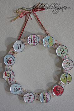 25 Days Of Christmas~12 Days Advent Calendar By NotSoIdleHands.com