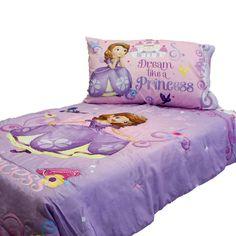 20 Princess Dream Big 4 Piece Toddler Bedding Set