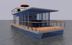 Pontoon houseboat diy aluminium house pinterest pontoon diy pontoon boat kits or houseboat solutioingenieria Choice Image