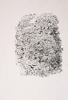 Hiroe Kittaka - Untitled, 2007 - Ink, paper