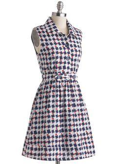 In Ship Shape Dress, #ModCloth $68