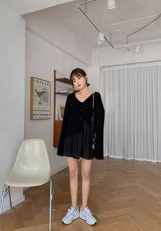 All Black Fashion, Korean Style, Korean Fashion, Tulle, Skirts, Korea Style, K Fashion, Korean Art, Skirt
