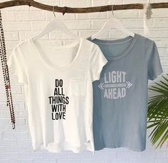 Wow! We sent out the most orders ever today. Thank you all so very much. Here's some newness that's up in the shop at www.SuperLoveTees.com 💋💛✨🌎
