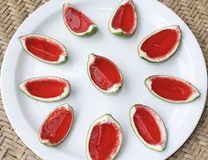 watermelon inspired jello shots