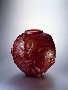 Florero Formosa-Lalique vase ca. 1920