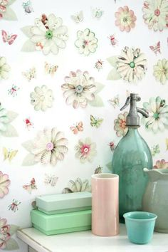 Studio Ditte / wallpaper / styling
