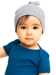 American Apparel Infant Baby Rib Hat