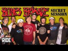 Exhibición sorpresa de la Bones Brigade en un evento de la Fundación de Tony Hawk. Más info: http://www.40sk8.com/bones-brigade-secret-session/