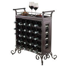 Silvano 25 Bottle Wine Rack