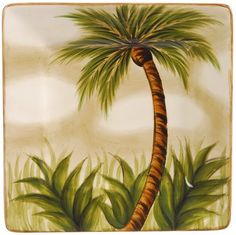 Tabletops Unlimited Inc. Kona 8 Square Salad by Tabletops Unlimited Inc.. $7.19. Imported. Hand−painted. Dishwasher Safe. Microwave Safe. A delightful addition to your serve ware! This salad plate features durable ceramic construction, palm tree design, and is dishwasher safe.Serving accessories bring a coordinated look to your table dÉcor.. Save 40%!