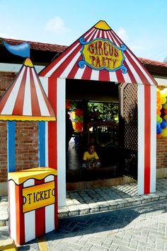 El Circo :: Crear una taquilla es un punto clave para implicar en él al rincón de lógica-matemática