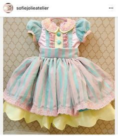 This is precious Baby Girl Party Dresses, Baby Party, Little Girl Dresses, Baby Dress, Flower Girl Dresses, Circus Carnival Party, Circus Theme Party, Carnival Birthday, Baby Fashionista