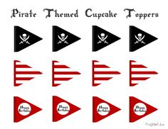 pirate-themed-cupcaketoppers.png 1024×791 пикс