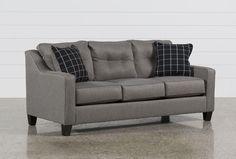 Brindon Charcoal Queen Sofa Sleeper - 360