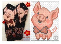 ВСЕ В АЖУРЕ. Вязание Knitted Mittens Pattern, Knit Mittens, Knitted Gloves, Knitting Socks, Beaded Cross Stitch, Crochet Cross, Cross Stitch Baby, Cross Stitch Embroidery, Knitting Charts
