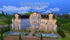 Palace – house 08 by ggoyam at My Sims House • Sims 4 Updates