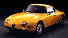 1961 Alfa Romeo Giulietta Goccia concept
