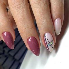 Purple Nail Art, Pretty Nail Art, Elegant Nails, Classy Nails, Glow Nails, Pink Nails, Chrome Nail Art, Nailart, Vintage Nails
