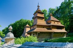 Wooden church in Zboj People Around The World, Around The Worlds, Mansions, House Styles, Gallery, Image, Home Decor, Travel, Temples