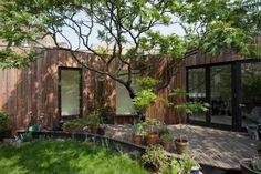 Casa del árbol, en Londres