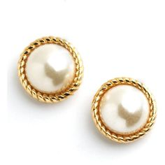 Kate Spade New York Seaport Pearl Stud Earrings (€45) ❤ liked on Polyvore featuring jewelry, earrings, accessories, brincos, jewels, gold tone jewelry, kate spade earrings, pearl stud earrings, stud earrings and white pearl earrings