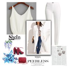 """""""SheIn 3/IV"""" by amina-haskic ❤ liked on Polyvore featuring Basler and Sheinside"""