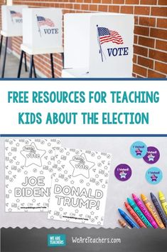 This Website Has Tons of Free Resources for Teaching Kids About the Election. With these free election resources from PebbleGo Vote, K-5 students can learn about presidential candidates and even cast their own ballot. #socialstudies #elementaryschool #election #activities #activitiesforkids #classroom #educationalresources