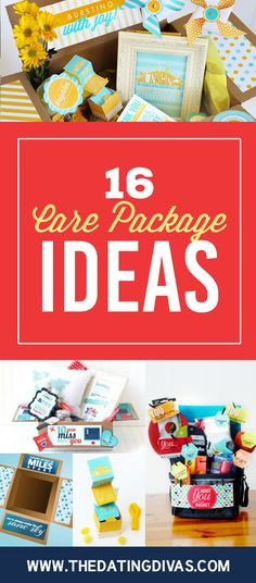 16 Long Distance Love Care Package Ideas