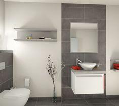 Die 10 besten Bilder von Badezimmer fliesen grau | Bathroom ...