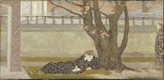 Poster Print-La Terrasse , ca Creator: Roussel, Ker-Xavier poster sized print mm) made in the UK Edouard Vuillard, National Gallery Of Art, Monet, Maurice Denis, Poster Prints, Framed Prints, Post Impressionism, Expositions, Paris Photos