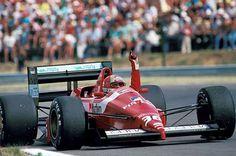 1988 GP Węgier (Hungaroring) Dallara F188 - Ford (Alex Caffi)