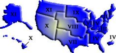US Region Map: Region I pride!! <3