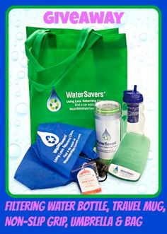 Giveaway: WaterSavers Prize Package