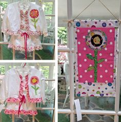 Pic stitch of my sewing crafts