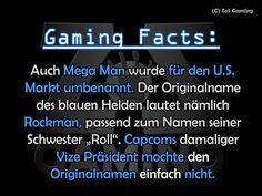 """Auch Mega Man wurde für den U. S. Markt umbenannt. Der Originalname des blauen Helden lautet nämlich Rockman, passend zum Namen seiner Schwester """"Roll"""". Capcoms damaliger Vize Präsident mochte den Originalnamen einfach nicht."""