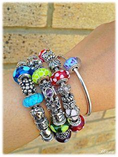 Pandora Collection, Pandora Bracelet, Charms, Jewelry