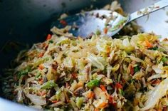 Healthy Eggroll in a Bowl (21 Day Fix)   Amber Kaye Moody   Copy Me That