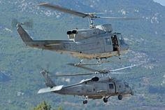 AB-212 ASW & SH-70 Aegeanhawk of the HN.