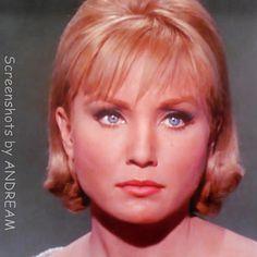 Susan Oliver, Guest Star 'The Menagerie, Part II'  (1966) STAR TREK Star Trek Series, Star Trek Tos, Star Wars, Susan Oliver, Beautiful Eyes, Beautiful Women, Start Trek, Cosmo, Star Trek Universe